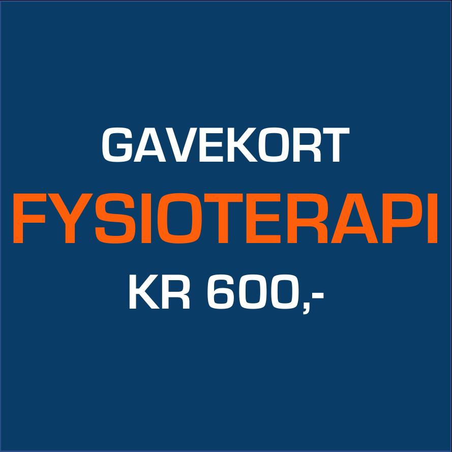 Køb Gavekort Fysioterapi 600,
