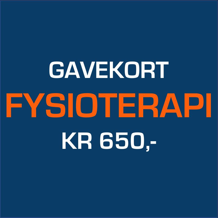 Køb Gavekort Fysioterapi 650,