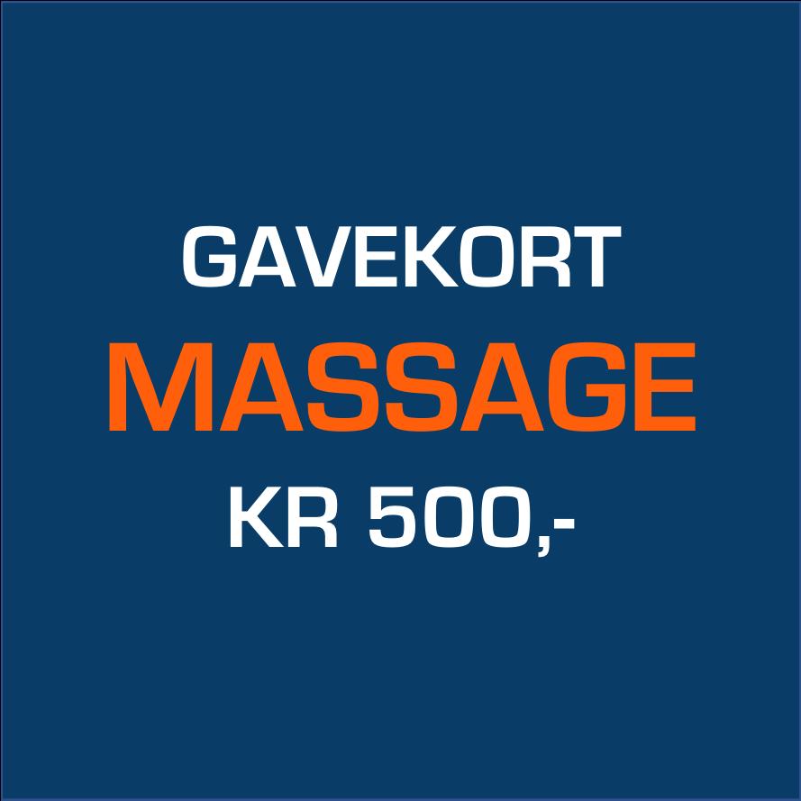 Køb Gavekort Massage 500,